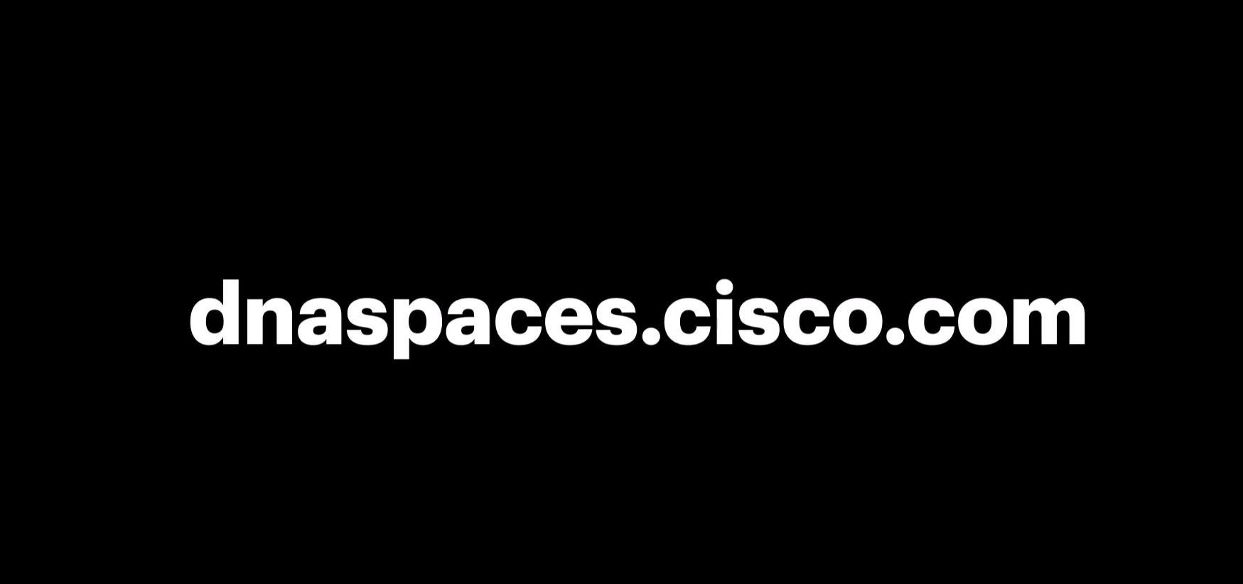 Video for Cisco DNA Spaces by IM